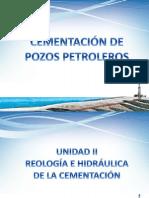 Unidad II - Reología e Hidráulica de La Cementación