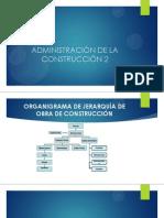 Administacion de la construcion