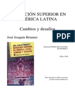 Educacion superior A.L Brunner