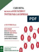 beneficiosdefacebookytwitterparalasempresas-111028050333-phpapp02