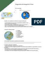 Ficha Geografia5º
