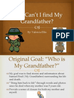 why cant i find my grandfather presentation
