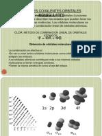 ENLACES COVALENTES ORBITALES MOLECULARES