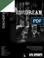 All Teachers Guide - A Midsummer Night's Dream