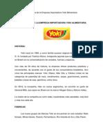 ANEXO 8 Acerca de La Empresa Importadora Yoki Alimentaria