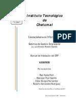 Manual de Instalacion ADEMPIERE