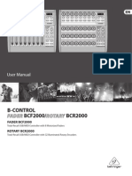 BCF2000 and BCR2000 Manual - English
