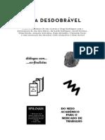 Sala Desdobrável  - publicação /workshop