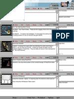 Digital Video Storyboard