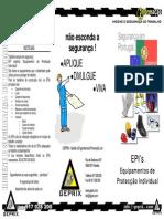 Folheto Geprix - EPIs