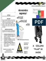Folheto Geprix - Coluna
