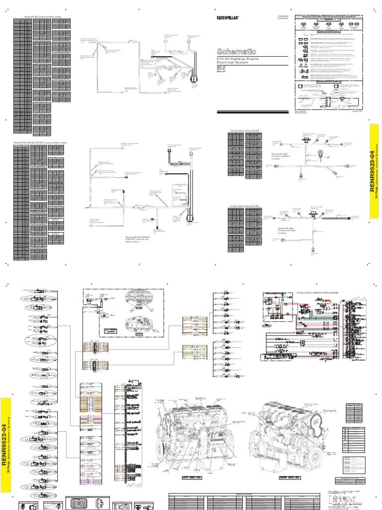 c15 Diagrama Electrico
