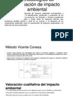 Metodologías de Evaluación de Impacto Ambiental