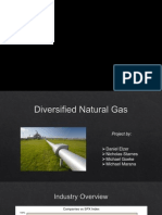 Investment Analysis for the Diversified Natural Gas Industry - Presentation