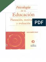 Psicología de La Educación Silvio Martín Tellez