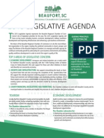 Beaufort Chamber Legislative Agenda 2015 v3