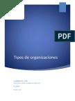 Administracion Tipos de Organizaciones