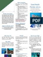 coral reefs florida crflo brochure