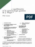 EquilibrioYEquilibracionEnLaEpistemologiaGeneticaD-65903