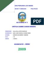 Derecho Minero en Perú