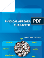 Physical_description & Character
