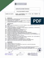 Grupo Electrogeno de 12 Kva Con Tablero de Transferencia Manual