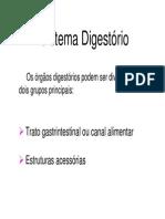 A03. Sistema Digestório II [Prof. Manuel]