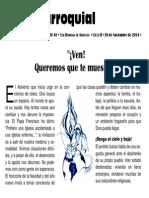 Hoja Parroquial 2014-11-30 No.48