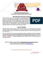 2015 asac scholarship guidelines and procedures