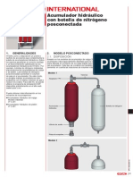 HYDAC.botella de Nitrógeno
