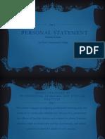 dwyer melinda- personal statement