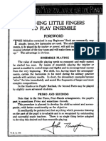 Thompson's Teaching Little Fingers Ensemble