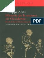 ARIES- Historia de la muerte en Occidente Desde la Edad Media hasta nuestros dias.pdf