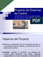 Projecto Sistemas de control