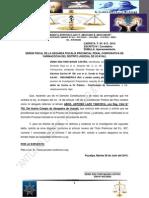 A La 2da Fiscalia Penal de Yarinacocha - Caso Dennis Magin