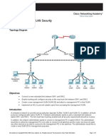 CCNAS Chp6 PTActB L2-VLAN-Security Instructor