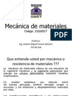 Mecanica de los materiales
