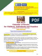 Calendar of Events - November 30, 2014