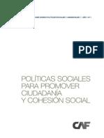 Politicas Sociales Cohesion Social