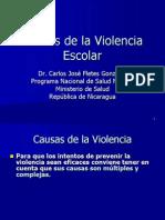 Causas de La Violencia Escolar