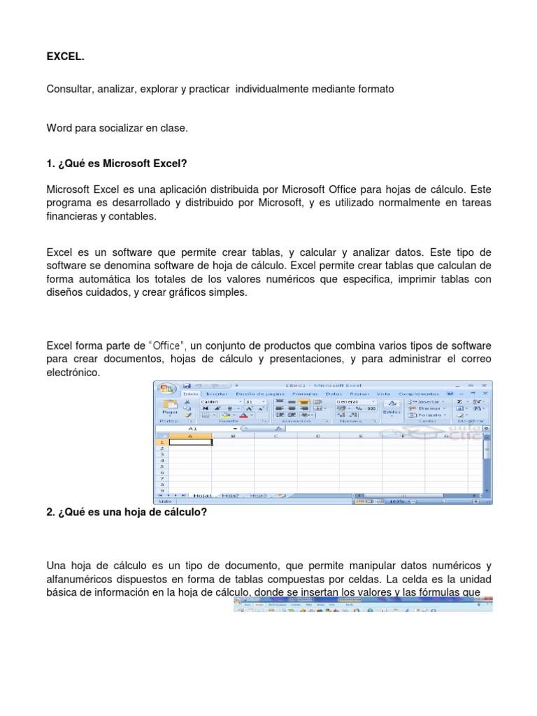 Trabajo de Excel Del Grupo