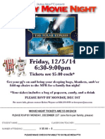 Holiday Family Movie Night 2014