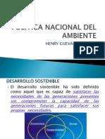 POL+ìTICA NACIONAL DEL AMBIENTE
