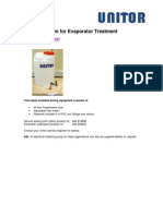 Dosing System for Evaporator Treatment