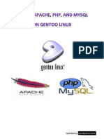 Install Apache, PHP, and MYSQL on GENTOO LINUX