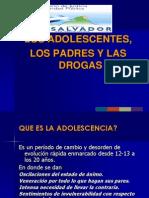 Adolescentes Padres y Las Drogas