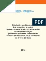 2014 Cha Orientacion Prevencion Filorivirus Ebola
