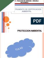 Instrumento de Certificación Ambiental