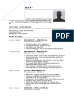176 Button Down-RESUME TEMPLATE