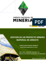 Informe Mineria Tajo abierto
